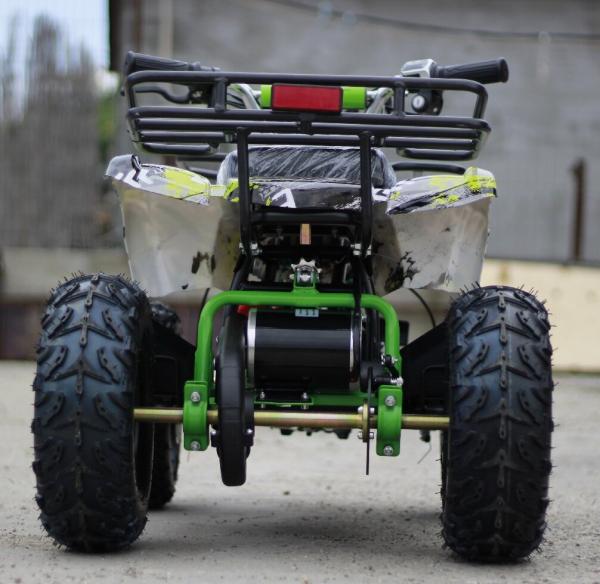 Mini ATV electric pentru copii NITRO Torino Quad 1000W 48V #Verde 5