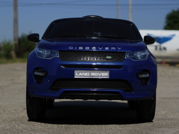 Masinuta electrica Land Rover Discovery DELUXE cu Touchscreen Mp4 #Albastru 1