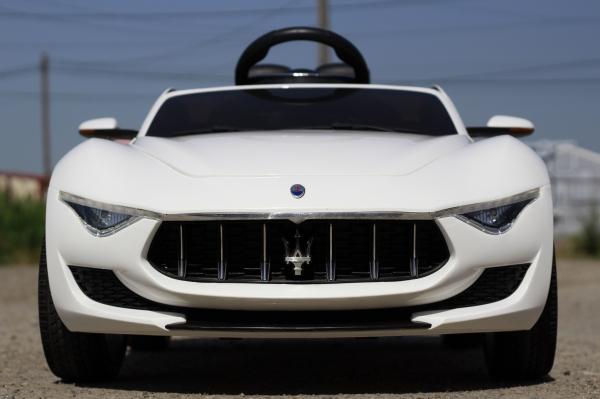Masinuta electrica Maserati Alfieri CU ROTI MOI 12V 2x35W #Alb 1