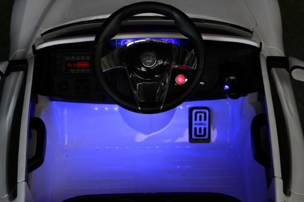 Masinuta electrica Maserati Alfieri CU ROTI MOI 12V 2x35W #Alb 4