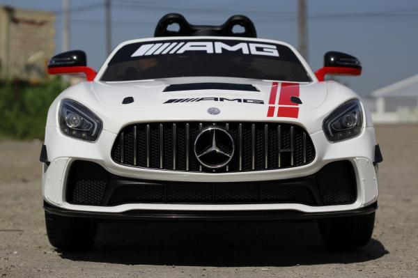 Masinuta electrica Mercedes GT-R 2x25W STANDARD #Alb 1