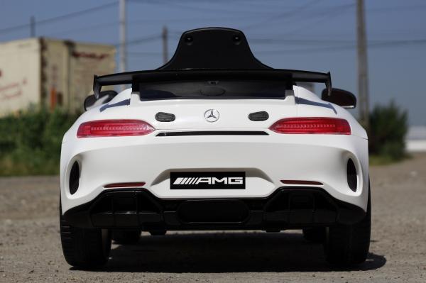 Masinuta electrica Mercedes GT-R 2x25W STANDARD #Alb 3