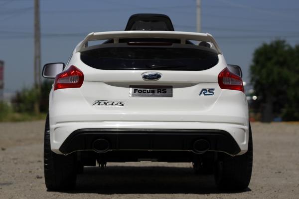 Masinuta electrica Ford Focus RS CU ROTI MOI #Alb 3