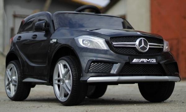 Masinuta electrica Mercedes A45 AMG PREMIUM 12V #Negru 3
