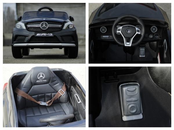 Masinuta electrica Mercedes A45 AMG PREMIUM 12V #Negru 8