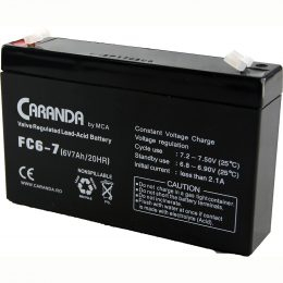 Acumulator 6V 7Ah pentru masinuta electrica [0]