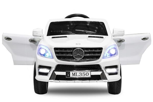 Masinuta electrica Mercedes ML350 2x25W STANDARD 12V # ALB 0