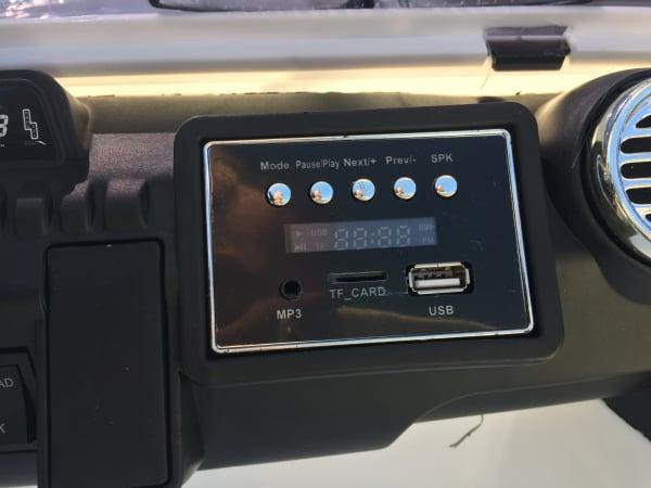 Masinuta electrica copii 2-7 ani Jeep Outdoor, alb [5]