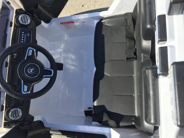 Masinuta electrica copii 2-7 ani Jeep Outdoor, alb [6]