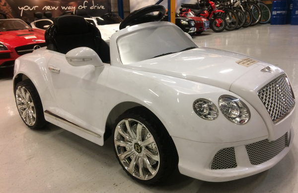 Masinuta electrica Bentley Continental GTC STANDARD 12V #ALB 3
