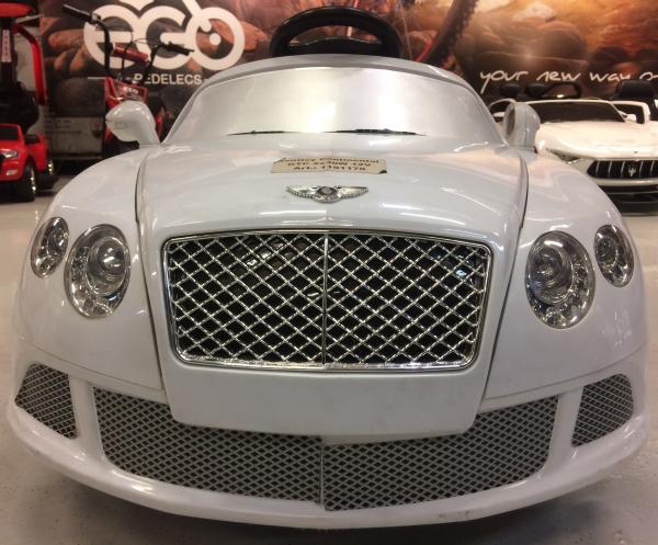 Masinuta electrica Bentley Continental GTC STANDARD 12V #ALB 1