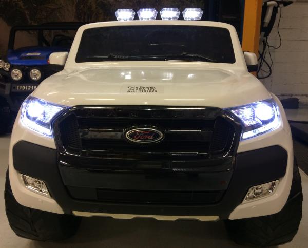 Masinuta electrica Ford Ranger WildTrak STANDARD 2x 35W 12V #ALB 2