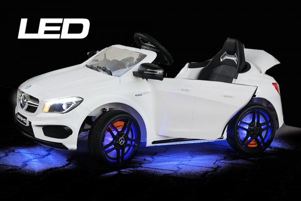 Masinuta electrica Mercedes CLA45 STANDARD 2x 25W 12V #ALB 5