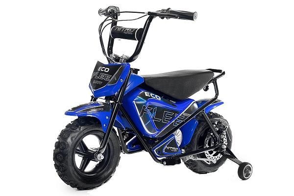 Mini Motocicleta electrica pentru copii NITRO ECO Flee 250W #Albastru 0