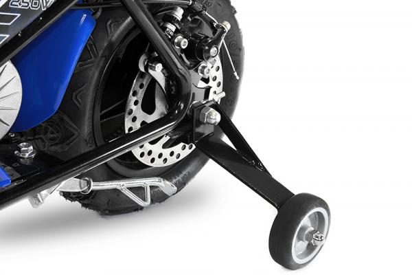Mini Motocicleta electrica pentru copii NITRO ECO Flee 250W #Albastru 5