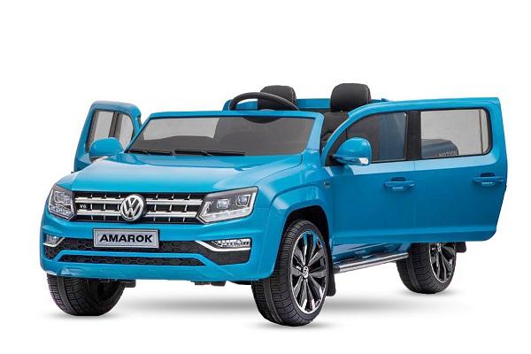 Masinuta electrica VW Amarok Pickup PREMIUM #Albastru 0