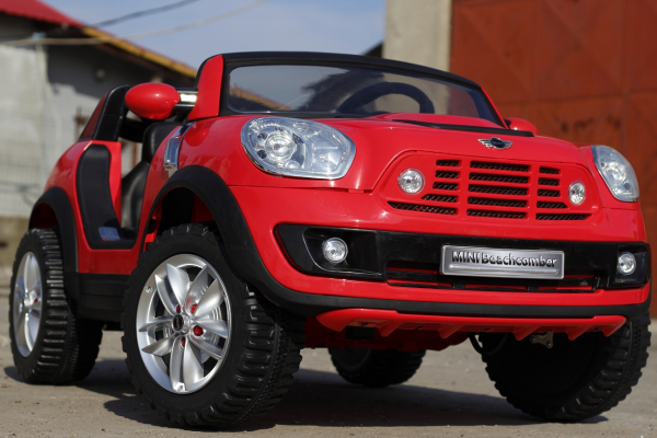 Kinderauto Mini Comberman STANDARD cu 2 locuri #Rosu 1