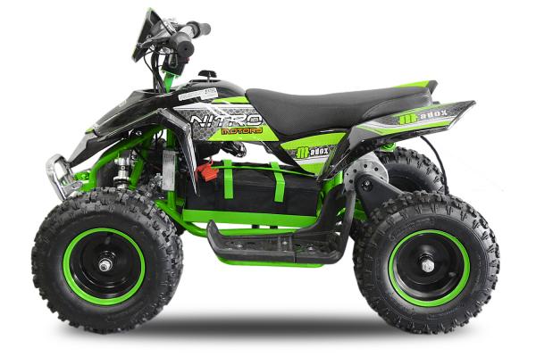 ATV electric Deluxe ECO Maddox 1000W 48V cu 3 Viteze #Verde 1