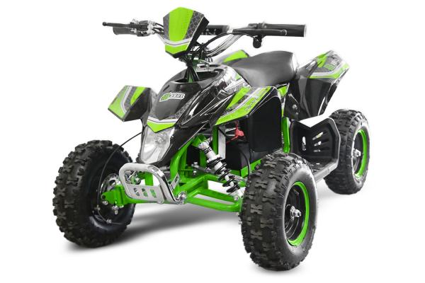 ATV electric Deluxe ECO Maddox 1000W 48V cu 3 Viteze #Verde [0]