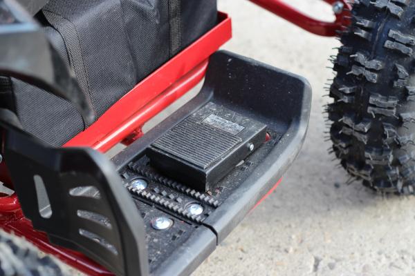 ATV electric Deluxe ECO Maddox 1000W 48V cu 3 Viteze #Rosu 11