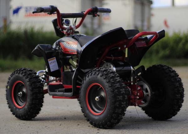 ATV electric Deluxe ECO Maddox 1000W 48V cu 3 Viteze #Rosu 4