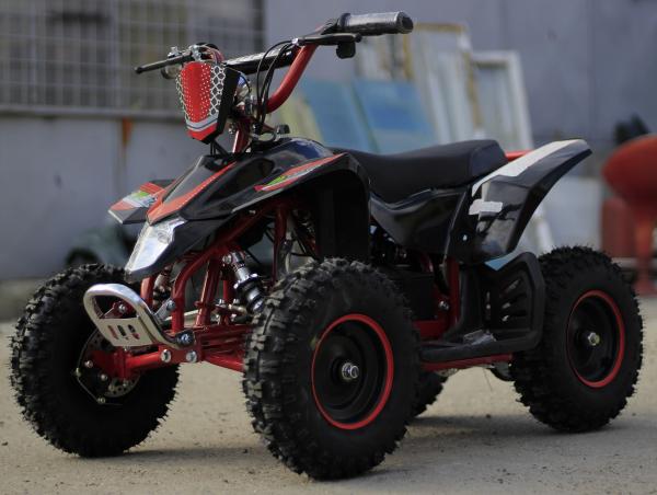 ATV electric Deluxe ECO Maddox 1000W 48V cu 3 Viteze #Rosu 7