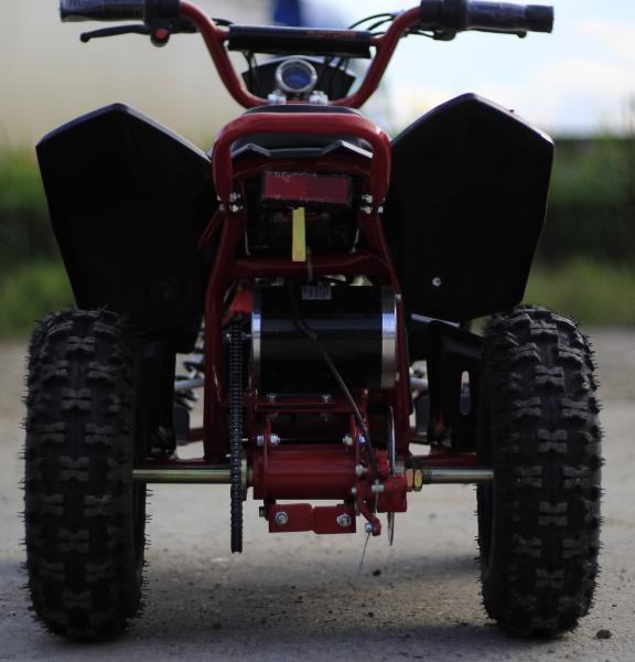 ATV electric Deluxe ECO Maddox 1000W 48V cu 3 Viteze #Rosu 5