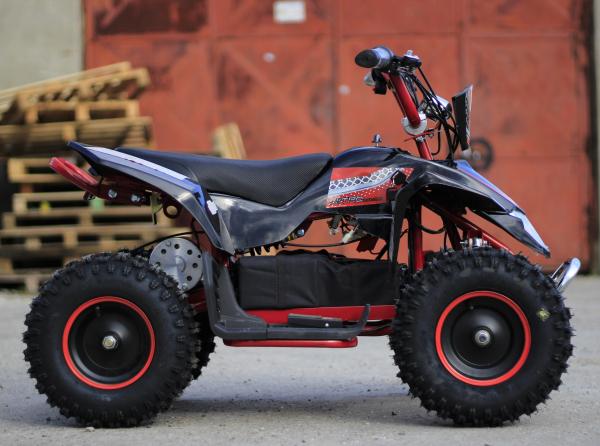 ATV electric Deluxe ECO Maddox 1000W 48V cu 3 Viteze #Rosu 3