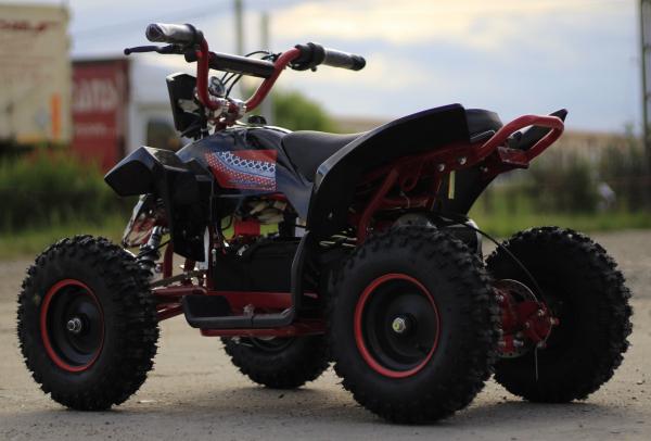 ATV electric Deluxe ECO Maddox 1000W 48V cu 3 Viteze #Rosu 6