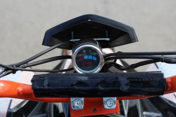 ATV electric Deluxe ECO Maddox 1000W 48V cu 3 Viteze #Rosu 12
