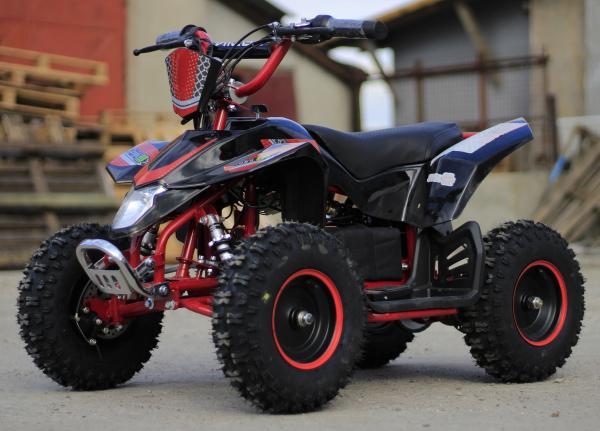 ATV electric Deluxe ECO Maddox 1000W 48V cu 3 Viteze #Rosu 2