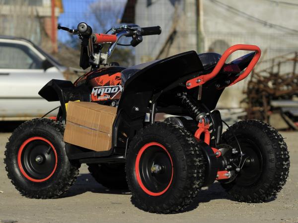 ATV electric Deluxe ECO Maddox 800W 36V cu 3 Viteze #Portocaliu 4