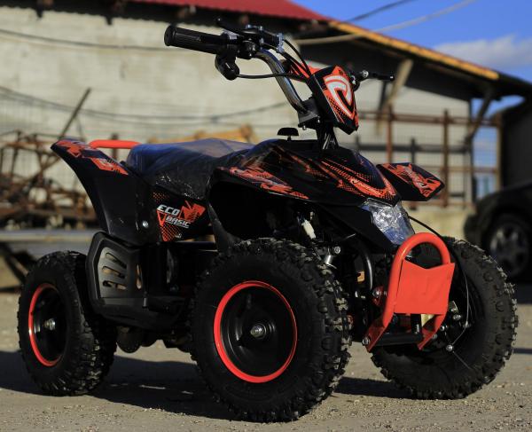 ATV electric Deluxe ECO Maddox 800W 36V cu 3 Viteze #Portocaliu 1