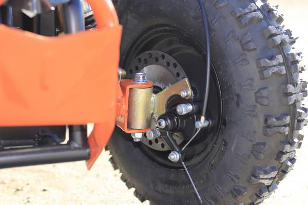 ATV electric Deluxe ECO Maddox 800W 36V cu 3 Viteze #Portocaliu 7