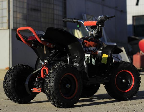 ATV electric Deluxe ECO Maddox 800W 36V cu 3 Viteze #Portocaliu 3