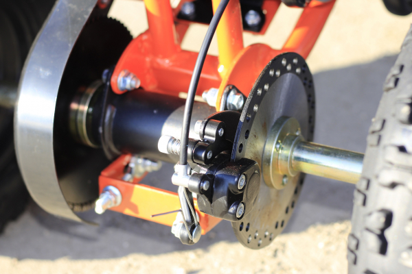 ATV electric Deluxe ECO Maddox 800W 36V cu 3 Viteze #Portocaliu 8