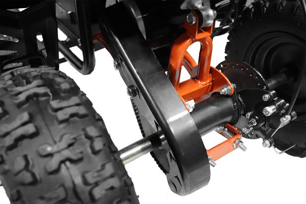 ATV electric Deluxe ECO Maddox 800W 36V cu 3 Viteze #Albastru 4