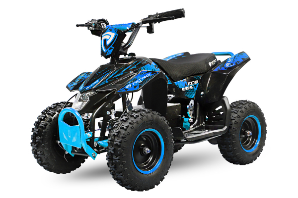 ATV electric Deluxe ECO Maddox 800W 36V cu 3 Viteze #Albastru 0