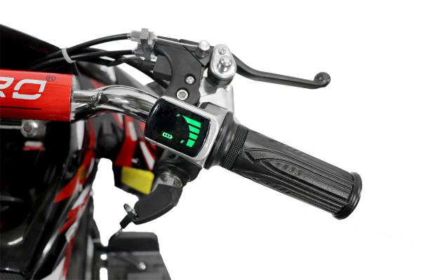 ATV electric NITRO ECO Python 800W 36V cu 3 Viteze #Rosu [6]