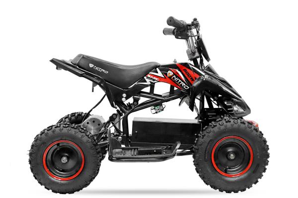 ATV electric NITRO ECO Python 800W 36V cu 3 Viteze #Rosu [2]