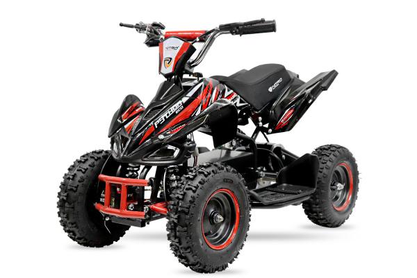 ATV electric NITRO ECO Python 800W 36V cu 3 Viteze #Rosu [0]