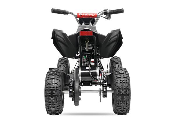 ATV electric NITRO ECO Python 800W 36V cu 3 Viteze #Rosu [3]
