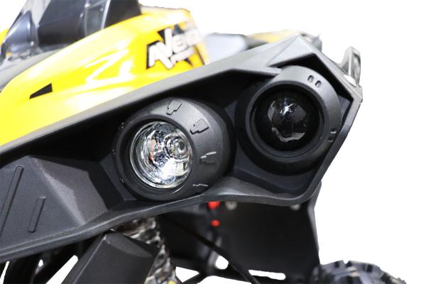 ATV Electric Eco Avenger 1000W 36V cu 3 Trepte de Viteza #Galben [11]