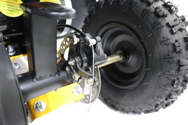 ATV Electric Eco Avenger 1000W 36V cu 3 Trepte de Viteza #Galben [6]