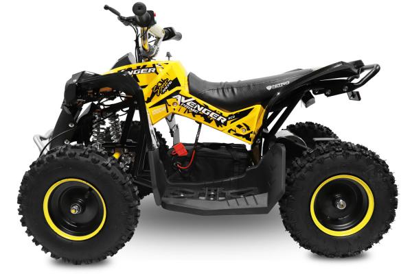 ATV Electric Eco Avenger 1000W 36V cu 3 Trepte de Viteza #Galben [1]