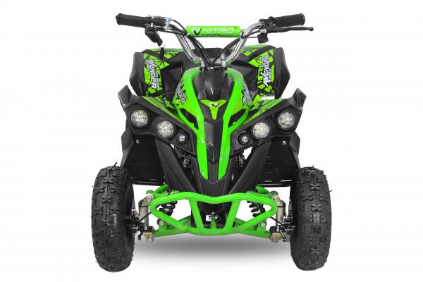 ATV Electric Eco Avenger 800W 36V cu 3 Trepte de Viteza #Verde 0