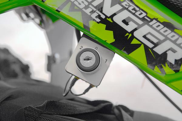 ATV Electric Eco Avenger 800W 36V cu 3 Trepte de Viteza #Verde 5