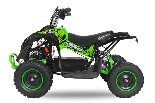 ATV Electric Eco Avenger 1000W 36V cu 3 Trepte de Viteza #Verde 1