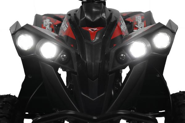 ATV Electric Eco Avenger 1000W 48V cu 3 Trepte de Viteza #Portocaliu [4]
