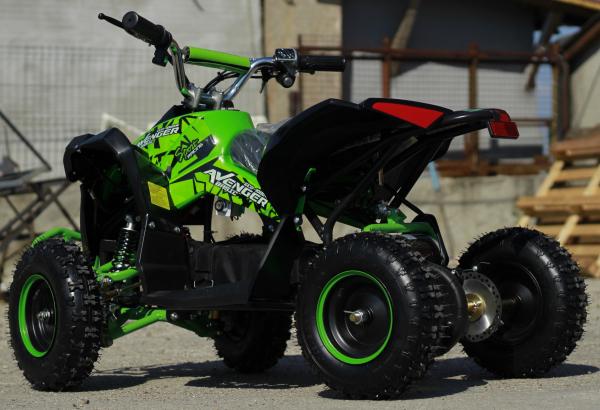 ATV Electric Eco Avenger 1000W 48V cu 3 Trepte de Viteza #Verde 5